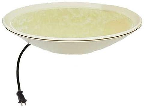 API 600 20-Inch Diameter Heated Bird Bath Bowl (no stand)