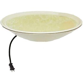 Allied Precision Industries API 600 20-Inch Diameter Heated Bird Bath Bowl (no stand), Light stone color