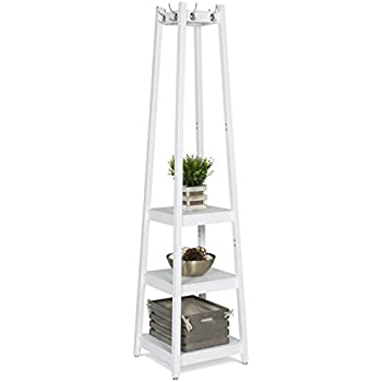 Genial Best Choice Products Home Furniture Standing 3 Tier Shelves Storage Coat  Rack
