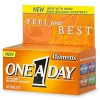 One-A-Journée de la femme multivitamines / Supplément Multiminéraux, comprimés, 60 comprimés