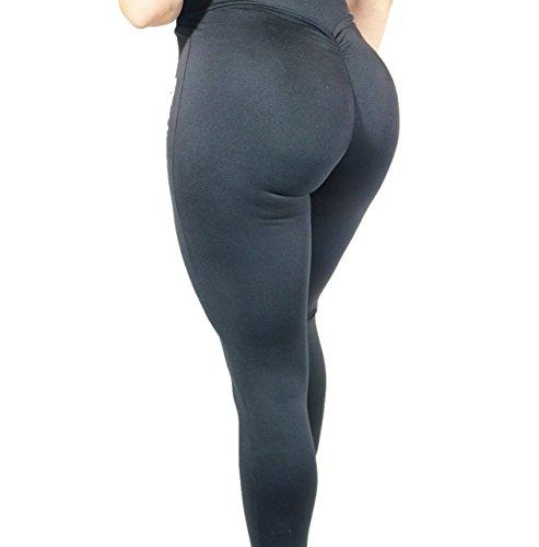 Fitdolls Premium High Waisted Booty Scrunch Workout Leggings (Medium) - Scrunch Leggings