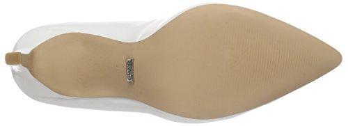 BUFFALO H733-c002a-4 P1239k Box Pu - Tacones Mujer Blanco (White)
