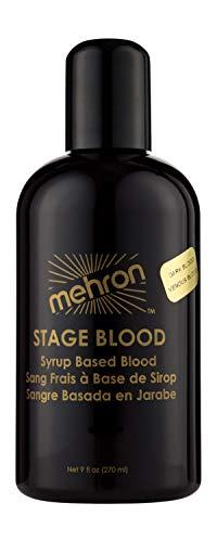 Mehron Makeup Stage Blood (9 oz) (Dark Venous)