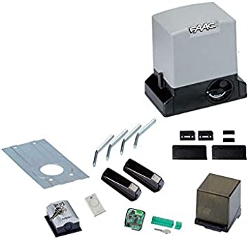 FAAC DELTA 3 Kit 741 230 V SAFE Automatismos puertas correderas 900 kg 105630445: Amazon.es: Hogar
