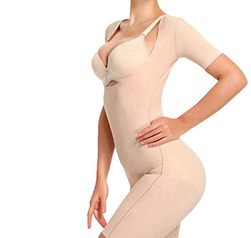 YANBAA Women Body Shaper Underwear Waist Thigh Control Smooth Shapewear Magic Bodysuit Beige
