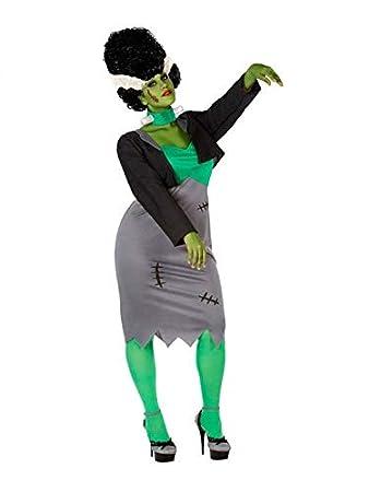 DISBACANAL Disfraz de Novia de Frankenstein para Mujer - Único, M-L: Amazon.es: Juguetes y juegos