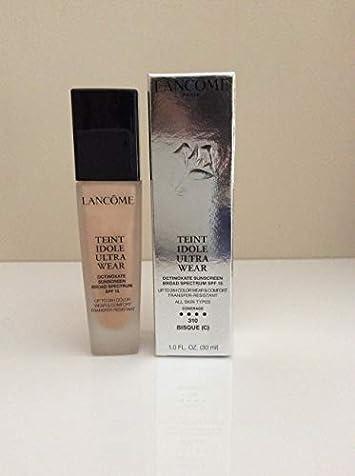 Lancome Teint Idole Ultra 24h Wear Comfort Foundation Spf 15 310 Bisque C us Version 30ml 1oz