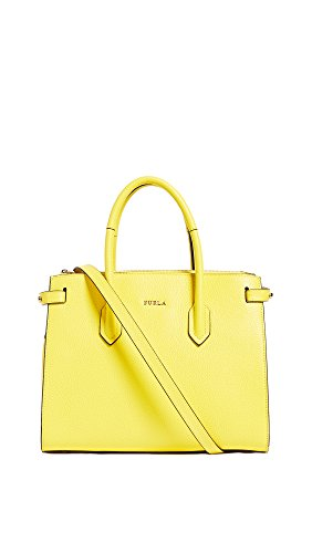 Furla Women's Pin Small Tote, Giallo, One Size