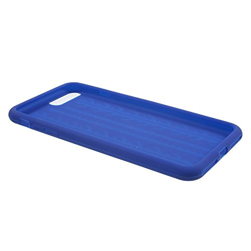 Skid-proof Tyre Tread Silicone Phone Accessory Tasche Hüllen Schutzhülle Case für iPhone 7 Plus - dark blau