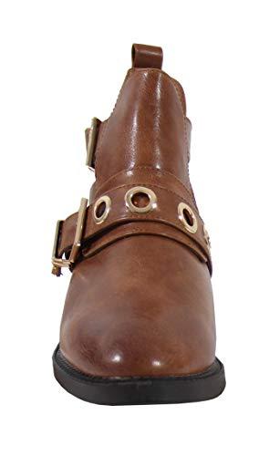 Ouverte Femme By Bottine Style Shoes Cuir 4qAZwq