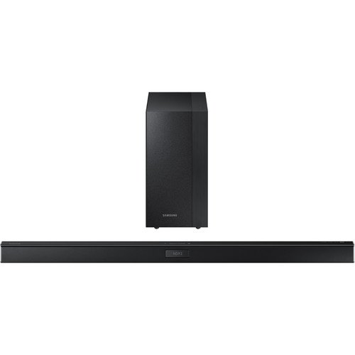 Samsung 2.1 Channel 300 Watt Sound Bar with Wireless Active Subwoofer Home Theater System by Samsung