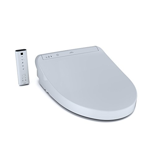 TOTO SW3036#01 K300 WASHLET Electronic Bidet Toilet Seat with Instantaneous Water Heating with PREMIST and SoftClose Lid, Elongated, Cotton White ()