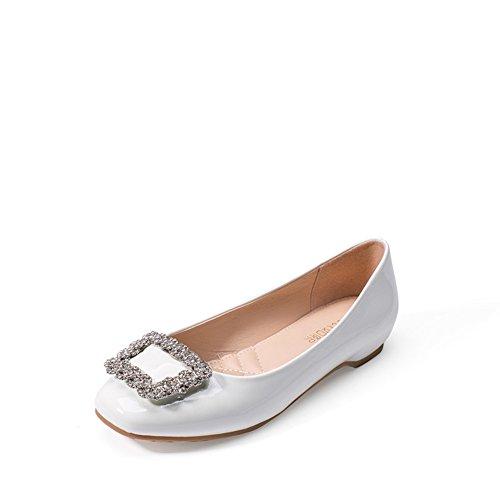 Cuñas de verano/Aumento lado hebilla bellezas del rhinestone en el viento de zapatos de moda/Zapatos de las mujeres coreanas A