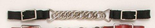 Royal King Flat Chain Nylon Curb Chain - Black