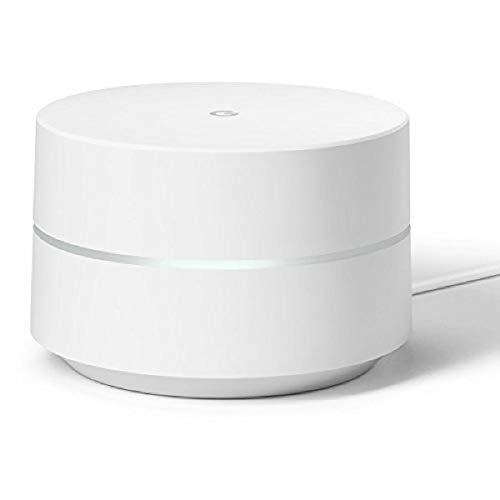 Google WiFi System, 1-Pack - Router Replacement for Whole Home 1-Pack, white