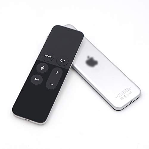 Apple TV Siri Remote Fundisinn Replacement Remote For Apple TV 4th Generation With Siri (Black)