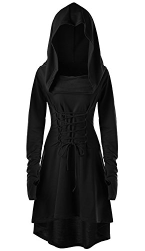hooded dress - 4
