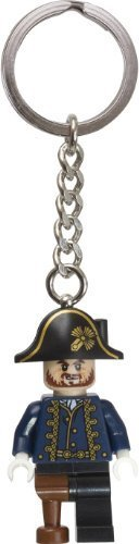 LEGO Pirates of the Caribbean Captain Hector Barbossa Key Chain 853189]()