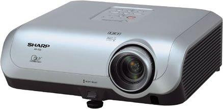 SHRXR10S - Sharp Electonics XR-10S Compact Multimedia DLP Projector with 2000 ANSI Lumens by SHARP