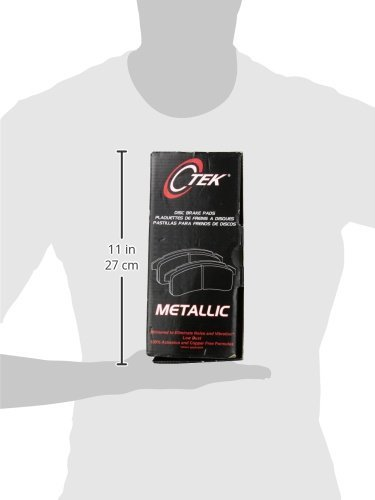 Centric Parts 102.09640 102 Series Semi Metallic Standard Brake Pad