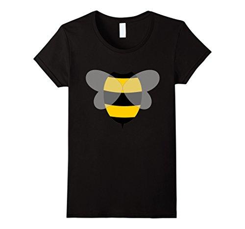 Womens Honeybee Halloween Costume Bee T-Shirt XL (Beekeeper Halloween Costume)