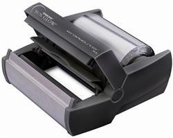 Wrapmaster 500 - Dispensador de aluminio, color negro