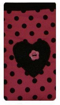 Light Pink Polka Dot Print Apple iPhone 4oder 4S Socke/Case/Cover/Tasche