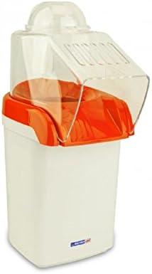 Macchina Pop Corn Express Senza Olio Cuoce ad Aria Calda 1200W Fair ShopOnline arancio