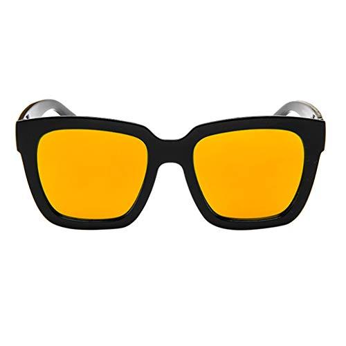 Mode Reflétée Polarisées Kaister De Des Pour Par Femmes Orange Soleil Lentille Lunettes xgUg81