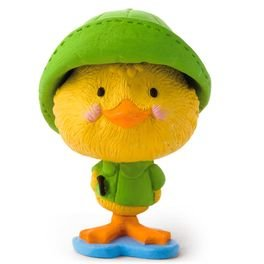 (Hallmark Merry Miniatures Duck in Raincoat Figurine)