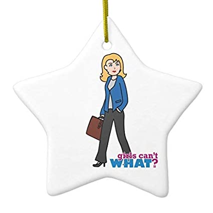 amazon com kanwa christmas ornaments business woman light blonde
