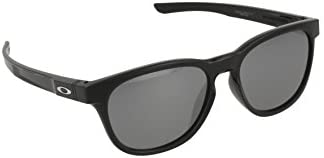 Oakley Stringer Mens Sunglasses (Polished Black/Black Iridium)