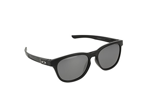 Oakley Stringer Sunglasses, Polished Black/Black Iridium, One - Woman Oakley Sunglasses