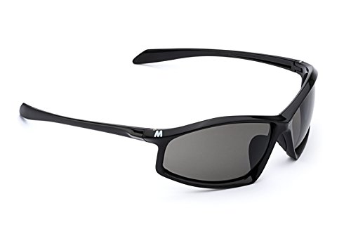 - MORR Protective Gear MORR ARRISTOTLE Z65 Sport Sunglasses with Scratch ARMORR for rough Mountain Biking, Cycling, Motorcycle, Golf, Tennis, Volley Ball (Gray Lens/Black Frame)