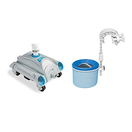 Intex Automatic Above-Ground Swimming Pool Vacuum & Mounted Automatic Skimmer - Intex Pool Vacuum
