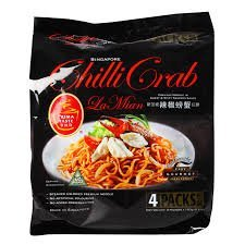 Prima Taste Singapore Chilli Crab Lamian Noodles, Pack of 4
