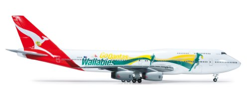 Daron Herpa Qantas 747-400 Go Wallabies Building Kit for sale  Delivered anywhere in USA