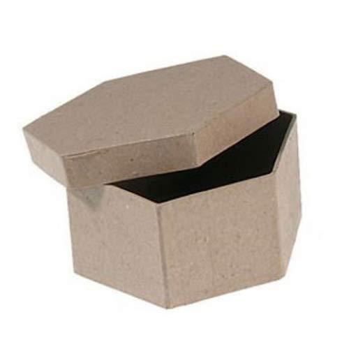 Bulk Buy Corein.dinations Paper Mache Star Ornament 2in. 12-Pack