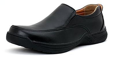 Jas neuf chaussures décontractés pour hommes à enfiler École travail