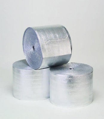 Low-E Reflective Foam Core Insulation Pipe HVAC Duct Wrap 4 feet x 4 feet sheet
