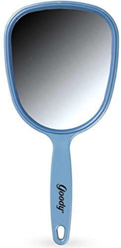 """11 1/4"""" FULL SIZE HAND MIRROR, Color may vary (2-Pack)"""
