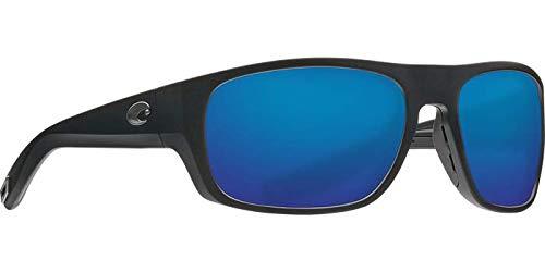Costa Del Mar - Tico - Matte Grey Frame-Blue Mirror 580 Glass Polarized Lenses