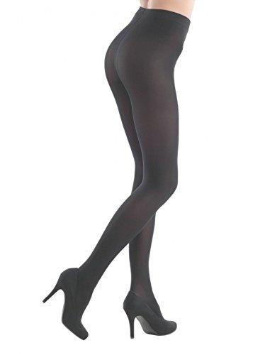 Conte Womens Black (Nero) Thick Full Length Warm Winter Tights - 150 denier Pantyhose -Triumf