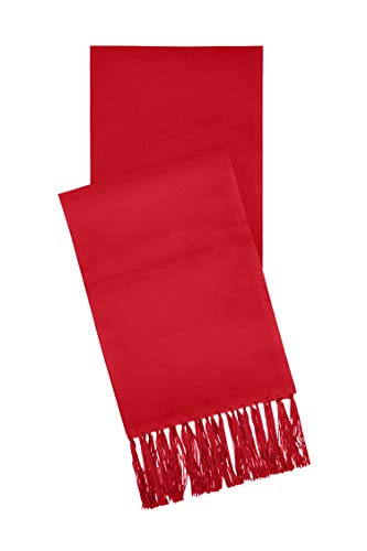 Red Satin Formal Scarf, By S.H Churchill