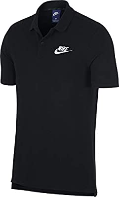NIKE M NSW CE Polo Matchup Pq Polo Shirt, Hombre, Black/(White), M ...