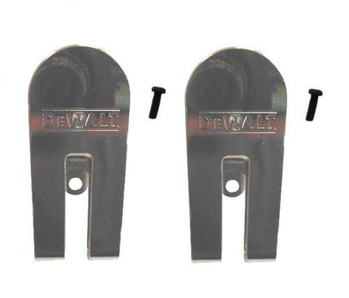 EZ 2 Pack Replacement Belt Hook Clip Kit for Dewalt N435687 DCF620 DCF622 Drywall Screwgun