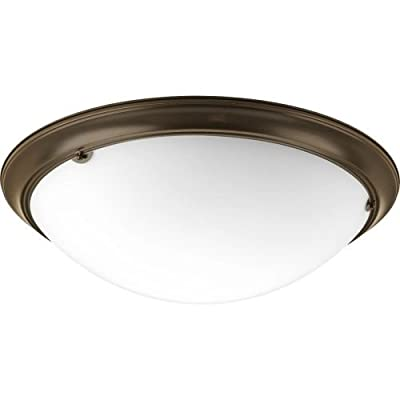 Progress Lighting P3491-20EB G24Q Close to Ceiling, 4-13-watt