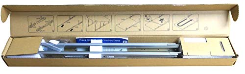 Dell PowerEdge R320, R420, R620, R320, R430, R630, R340, R440, R640, 1U Ready Rail Kit – 81WCD
