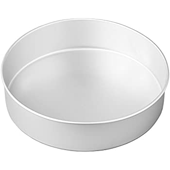 Wilton Round Cake Pan, Even-Heating for Great Baking Results, Aluminum, 3 inch x 12 inch