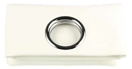 Blanc Pochette Girly Pour Handbags Femme 67WnwIO8q